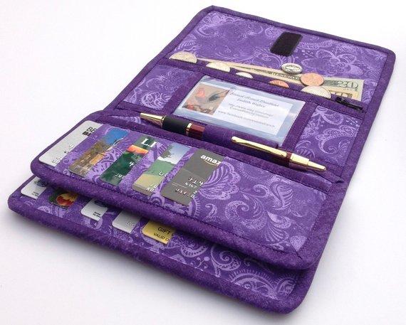 Purple Checkbook